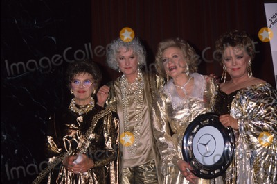 Betty White Photo - Bea Arthur Betty White Estelle Getty Rue Mcclanahan 1990 A6049 Photo by Adam Scull-Globe Photos Inc