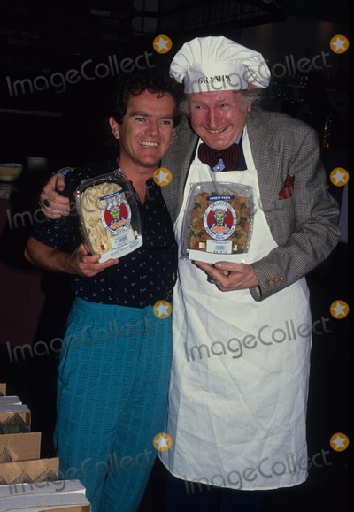 Al Lewis Photo - AL Lewis with Butch Patrick 1987 F5018 Photo by John Barrett-Globe Photos Inc