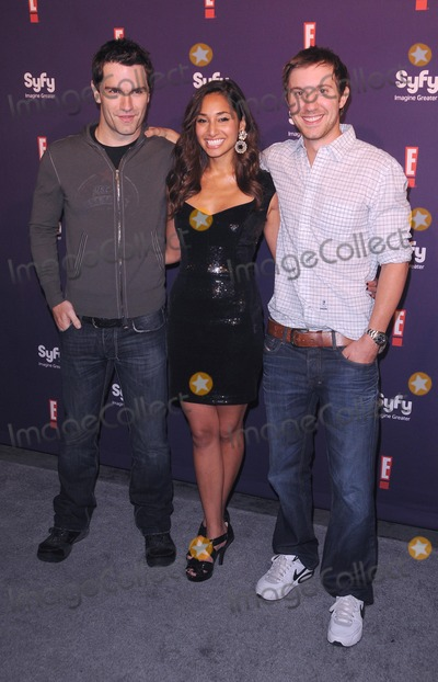 Meaghan Rath Photo - Syfy  E Comic-con 2011 Party at Hotel Solamar in San Diego CA 72311 Photo by Scott Kirkland-Globe Photos  2011 Sam Witwer Meaghan Rath and Sam Huntington