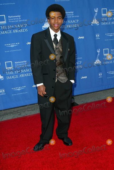 Aaron Meeks Photo - Naacp Image Awards at the Universal Amphitheatre Los Angeles CA Aaron Meeks Photo by Fitzroy Barrett  Globe Photos Inc 2-23-2002 K24180fb (D)