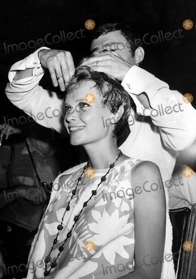 Mia Farrow Photo - Mia Farrowvidal Sassoon Sassoon Cuts Farrows Hair For Her Role in Rosemarys Baby Photo Nate CutlerGlobe Photos Inc