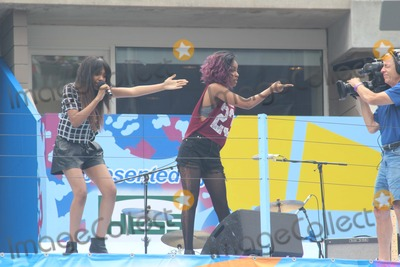China McClain Photo - L-r China Mcclain Sierra Mcclain Pop Group Mcclain Attend 2014 Arthur Ashe Kids Day at Usta Billie Jean King National Tennis Center on 8232014 in Flushing Qns NY