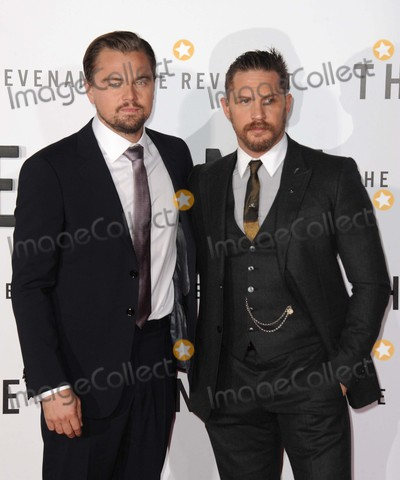 Tom Hardy Photo - Leonardo Dicaprio Tom Hardy attending the Los Angeles Premiere of the Revenant Held at the Tcl Chinese Theatre in Hollywood California on December 16 2015 Photo by David Longendyke-Globe Photos Inc
