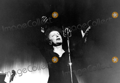 Edith Piaf Photo - Edith Piaf Photo by Photographic ServiceipolGlobe Photos Inc