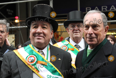 Mayor Michael Bloomberg Photo - The 252nd Annual St Patrick Days Parade Fifthe Avenue NYC March 16 2013 Photos by Sonia Moskowitz Globe Photos Inc 2013 Alfred E Smith Iv (Grand Marshal) Mayor Michael Bloomberg