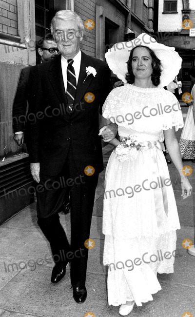 James Stewart Photo - James Stewart and His Daughter on Her Wedding Day in London 6291977 Globe Photos Inc