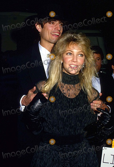 Heather Locklear Photo - Heather Locklear with Her Husband Tommy Lee 1988 14863 Photo by Phil Roach-ipol-Globe Photos Inc
