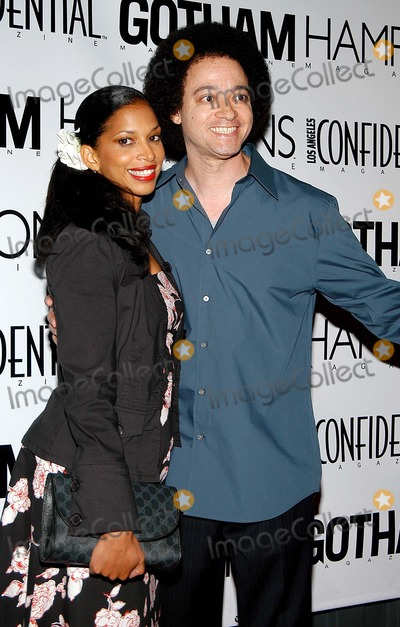 Kid N Play Photo - - Pre-emmy Bash to Celebrate Los Angeles Confidentials Fall Fashion - Shelter Supper Club West Hollywood CA - 09182003 - Photo by Jonathan Friolo  Globe Photos Inc 2003 - Chris Kid Reid (of Kid N Play) and Wife