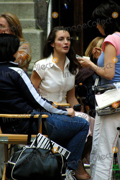Kristin Davis Photo - Sd0519 Kristin Davis on Location Filmingsex and the City New York City Photorick Mackler  Rangefinders  Globe Photos Inc
