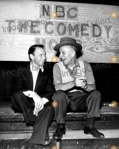 Jimmy Durante Photo - Frank Sinatra with Jimmy Durante Photo by Globe Photos Inc