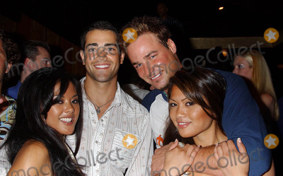 Adam Baratta Photo - Celebrities at Bliss West Hollywood CA 08072004 Photo by Miranda ShenGlobe Photos Inc 2004 Kaylani Jesse Metcalfe Adam Baratta and Charmane