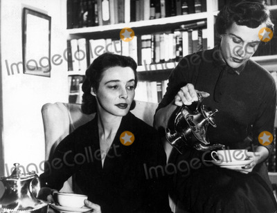 Patricia Neal Photo - Patricia Neal with Kim Hunter in the Childrens Hour 30030 Photo by Globe Photos Inc Filmtv Still Patricianealretro
