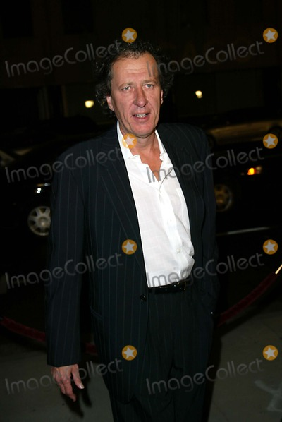 Geoffrey Rush Photo -  Los Angeles Premiere Screening of Chicago at the Academy of Motion Picture Beverly Hills California  12102002  Photo by Fitzroy Barrett  Globe Photos Inc 2002 Geoffrey Rush
