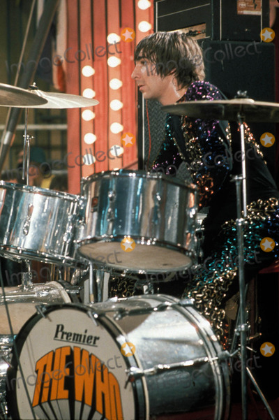 Keith Moon Photo - The Rolling Stones Rock and Roll Circus Photo Supplied by Richard Polak-Globe Photos Keith Moon of the Who