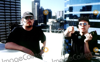 Larry Wachowski Photo -  the Matrix Directors Andy_larry Wachowski Supplied by Rangefinder  Globe Photosinc