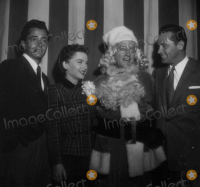 John Derek Photo - John Derek Anne Baxter Bing Crosby William Holden at Hollywood Womens Press Club Christmas Party Photo Nate CutlerGlobe Photos Inc