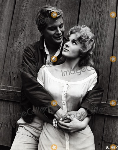 Troy Donahue Photo - Connie Stevens with Troy Donahue Parrish Supplied by Globe Photos Inc