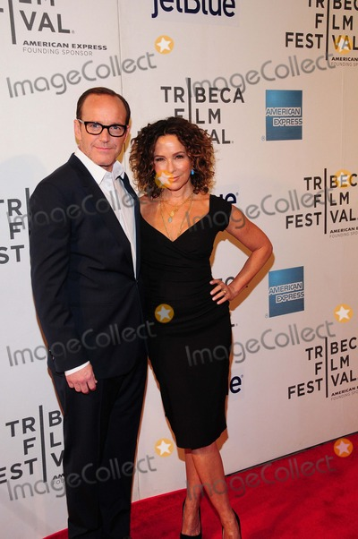 Jennifer Grey Photo - Trust Me Premiere Tribeca Performing Arts Center Ny4-20-2013 Photo by - Ken Babolcsay IpolGlobe Photo 2013 Clark Gregg Jennifer Grey