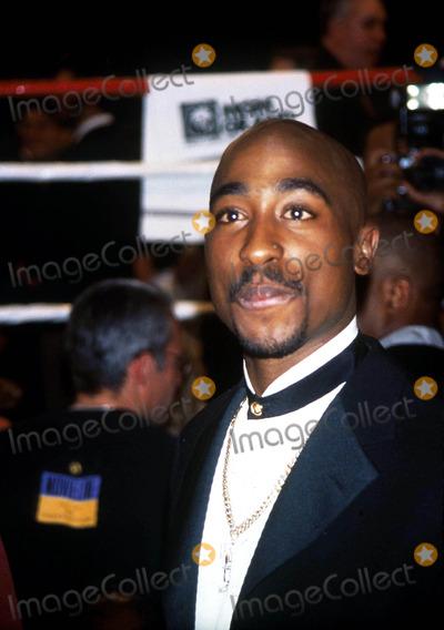 Tupac Shakur Photo - Tupac Shakur K15382kj Tyson Vs Bruno Fight Las Vegas NV Photokelly JordanGlobe Photos Inc