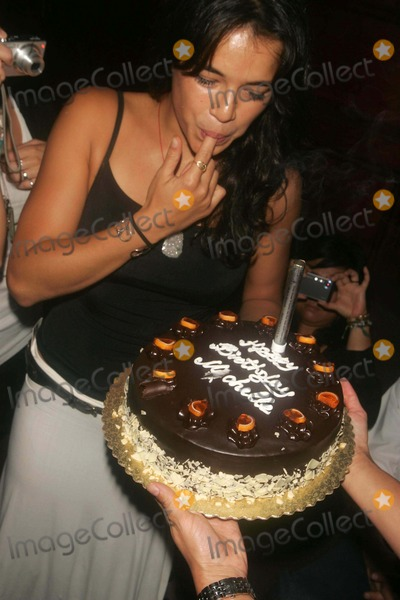 Michelle Rodriguez Photo - Michelle Rodriguez Is Presented with a Birthday Cake at Plumm Nightclub West 14th Street 07-19-2007 Photos by Rick Mackler Rangefinder-Globe Photos Inc2007 Michelle Rodriguez