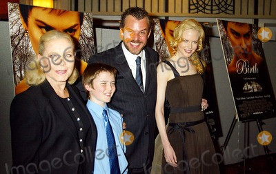 Cameron Bright Photo - New York Premiere Screening of Birth at Loews Lincoln Square in New York City 10262004 Photo by Sonia MoskowitzGlobe Photos Inc 2004 Lauren Bacall Nicole Kidman Danny Huston and Cameron Bright