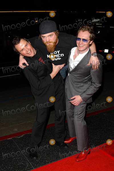 Maximillion Cooper Photo - Gumball 3000 the Movie Premiere at Graumans Chinese Theatre Hollywood California 021904 Photo Fitzroy BarrettGlobe Photos 2004 Ryan Dunn Steven Green and Maximillion Cooper