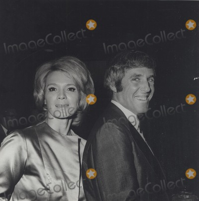 Burt Bacharach Photo - Angie Dickinson Burt Bacharach in Hollywood C 1970 Supplied by Globe Photos Inc