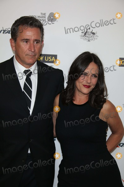 Anthony Lapaglia Photo - Anthony Lapaglia and Gia Carides Attend the 2014 Gday USA Los Angeles Black Tie Gala at Jw Marriott Hotel at LA Live in Los Angeles USA on 11 January 2014 Photo Alec Michael Photo by Alec Michael - Globe Photos Inc