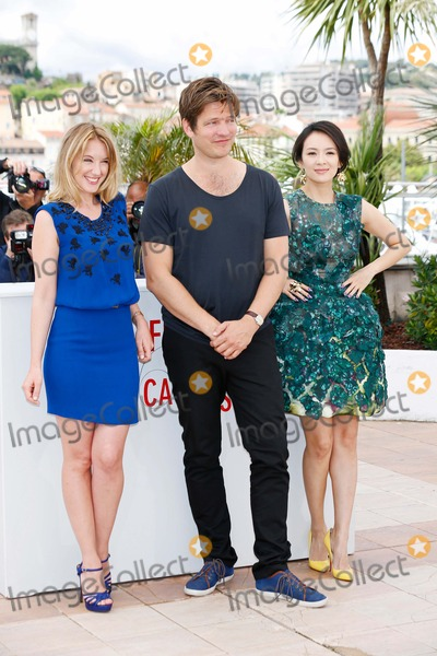 Ludivine Sagnier Photo - Ludivine Sagnier Thomas Vinterberg Zhang Ziyi Jury Un Certain Regard Photocall 66th Cannes Film Festival Cannes France May 16 2013 Roger Harvey Photo by Roger Harvey - Globe Photos Inc