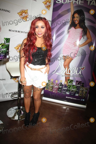 The Shore Photo - Nicolesnookipolizzi Is Very Skinny Now attends the Snooki Supre Tan Restore the Shore a Portion of Sales Will Be Donated to Hurricane Sandy Relief Efforts at Beach Bum Tanning West Saddle Brook NJ Photo by John BarrettGlobe Photo