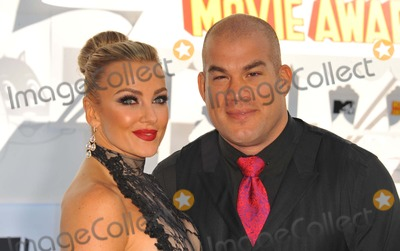 Amber Nicole Photo - Tito Ortiz Amber Nicole Miller attending the 2015 Mtv Movie Awards - Arrivals Held at the Nokia Theatre in Los Angeles California on April 12 2015 Photo by D Long- Globe Photos Inc