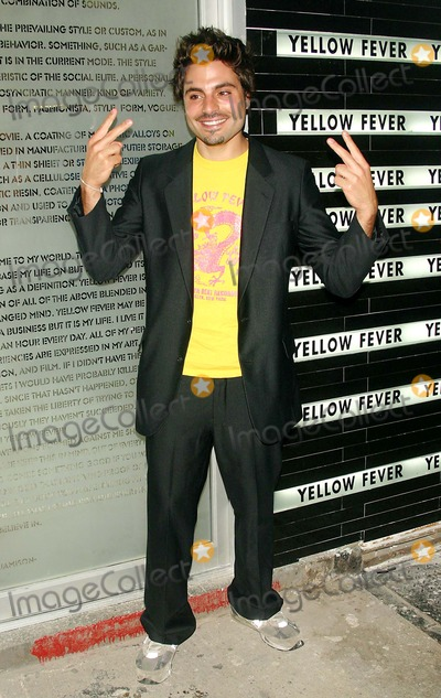 Yellow Fever Photo - Yellow Fever Clothing Store Opening New York City 09-08-2005 Photo by John Zissel-ipol-Globe Photosinc James Ernest
