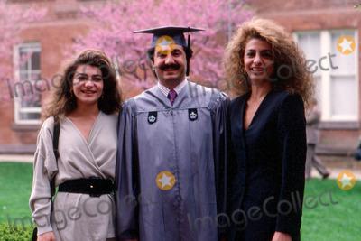 Prince Ali Photo - Imapressromuald Meigneux - 1992 - Prince Ali Rezagraduated at the Colombia University Sai Leila with Farahnaz in Washington Credit ImapressGlobe Photos Inc