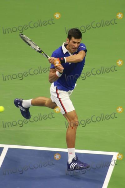 Novak Djokovic Photo - Novak Djokovic Novak Djokovic Vs Roger Federer Open Tennis Mens Finals at Arthur Ashe Stadium 9-14-2015 John BarrettGlobe Photos