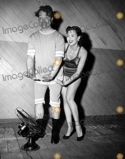 Red Skelton Photo - Ann Miller and Red Skelton Supplied by Globe Photos Inc Annmillerretro