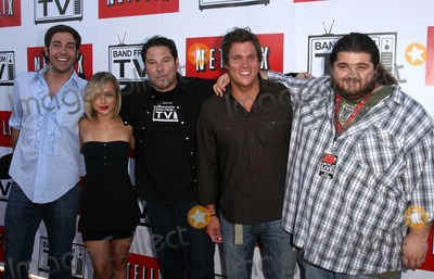 Greg Grunberg Photo - Band From Tv Presented by Netflix Live at the Autry National Center of the American West in Los Angeles CA 08-09-2008 Image Zachary Levi Hayden Panettiere Greg Grunberg Bob Guiney and Jorge Garcia Photo James Diddick  Globe Photos K59007jdi