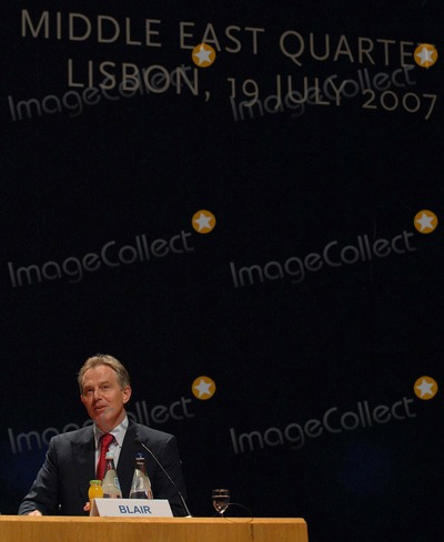Tony Blair Photo -  Lisbon USA the Quartet of Middle East Mediators Meet in Lisbon This Is Tony Blairs First Meeting As the Groups Envoy in Picture Tony Blair Photo by Alvaro Isidoro-cityfiles-Globe Photos Inc 2007