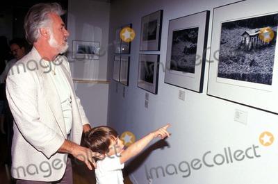 Kenny Rogers Photo - Kenny Rogers and Son Chris F3337 Photo by John BarrettGlobe Photos Inc