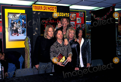 Aerosmith Photo - Aerosmith Photo Georgemichelson  Globe Photos Inc