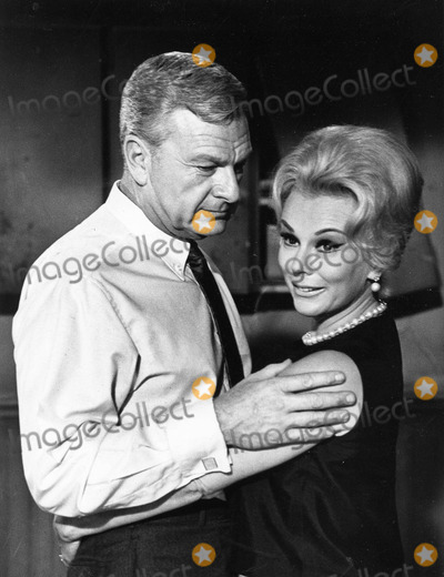 Eva Gabor Photo - Eva Gabor Eddie Albert photo by smp-globe Photos Inc