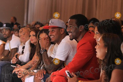 Amare Stoudemire Photo - Amare Stoudemirecarmelo Anthony at Red-carpet For Kid Rock Runway Show Featuring Nikelevisconversejorden at Vanderbilt Grand Central Station 9-11-2013 Photos by John BarrettGlobe Photos