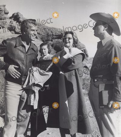 Arlene Dahl Photo - Fernando Lamas with Gloria de Havene Arlene Dahl and Eddie Albert on Location For Girl Rush Supplied by Globe Photos Inc