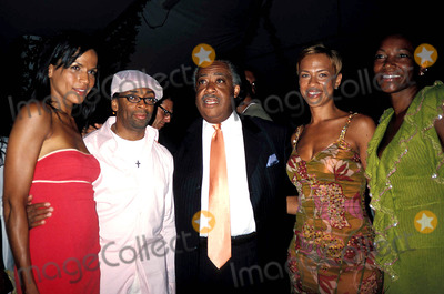 Crystal Anthony Photo - Tonya Lee and Crystal Anthonys Book Party For Gotham Diaries Hudson Hotel New York City 07072004 Photo Rose Hartman  Globe Photos Inc 2004 Crystal Anthony Spike Lee AL Sharpton and Tonya Lee
