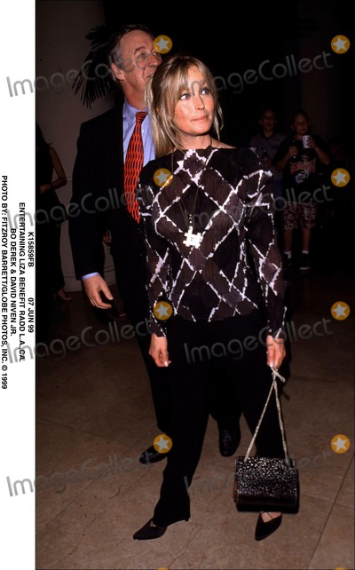 David Niven Jr Photo - 07 Jun 99 Entertaining Liza Benefit Radd Laca Bo Derek  David Niven Jr Photo by Fitzroy BarrettGlobe Photos Inc