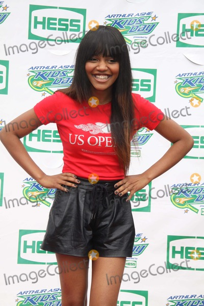 China McClain Photo - China Mcclain of Mcclain at Arthur Ashe Kids Day at Tennis Us Open at Usta Billie Jean King National Tennis Center 8-23-2014 John BarrettGlobe Photos