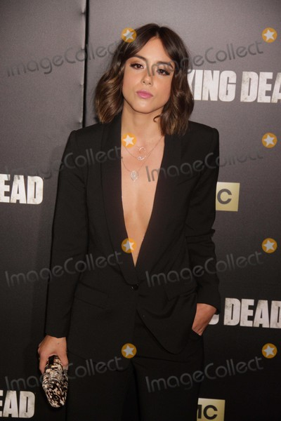 Chloe Bennet Photo - Chloe Bennet at Amc Season Six Debut of the Walking Dead at Fan Premiere Event at Madison Square Garden 10-9-2015 John BarrettGlobe Photos