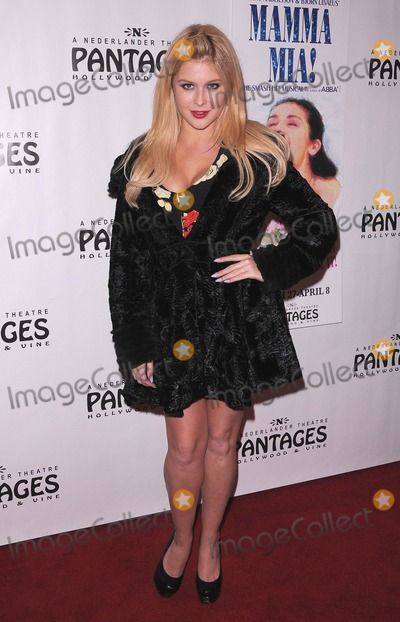Renee Olstead Photo - Opening Night of Mamma Mia at the Pantages Theatre in Hollywood CA 32712 Photo by Scott Kirkland-Globe Photos copyright 2012 Renee Olstead