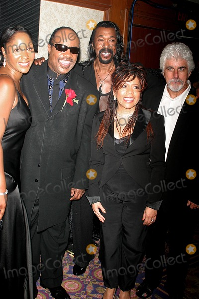 Aisha Morris Photo - the 29th Annual Tj Martell Foundation Award Gala Concert Hilton Hotel New York City 05272004 Photo John Barrett  Globe Photos Inc 2004 Stevie Wonder and His Dauhgter Aisha Morris with Ashford and Simpson and Michael Mcdonald