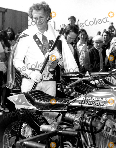 Evel Knievel Photo - Evel Knievel Russ ReedGlobe Photos Inc