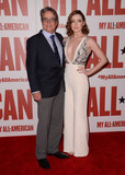 Angelo Pizzo Photo - 09 November - Los Angeles Ca - Angelo Pizzo Sarah Bolger Arrivals for the Los Angeles premiere of My All American held TPacific Theaters at The Grove Photo Credit Birdie ThompsonAdMedia